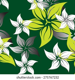 Vector Seamples Pattern Floral