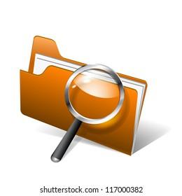 Vector  search folder