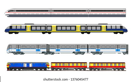 Vector series of high-speed trains