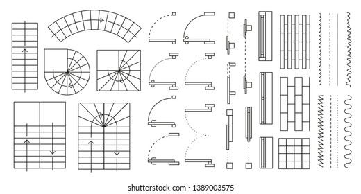 Stairs Symbol Images Stock Photos Vectors Shutterstock