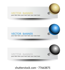 Pin Banner Images, Stock Photos & Vectors | Shutterstock