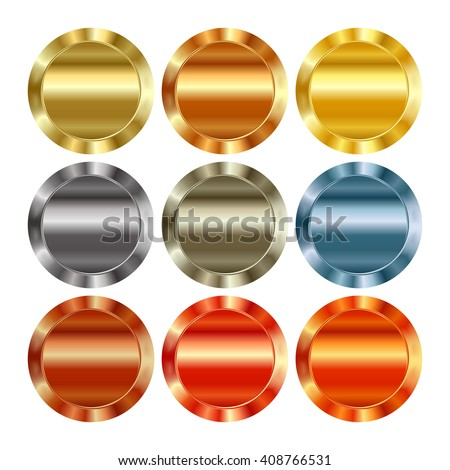 a923148fe37 Vector Set Blank Templates Different Types Stock Vector (Royalty ...