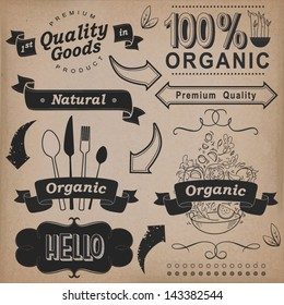Vector Set Calligraphic Design Elements And Page Decoration Premium Quality Natural Product