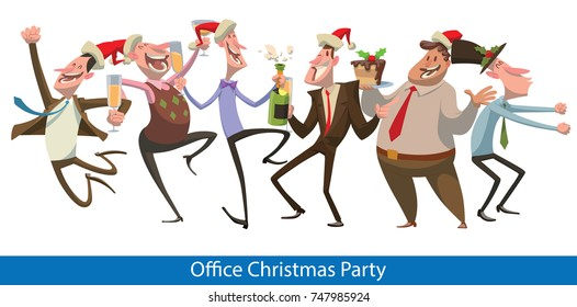 Christmas Party Images Clip Art.Funny Christmas Party Stock Illustrations Images Vectors