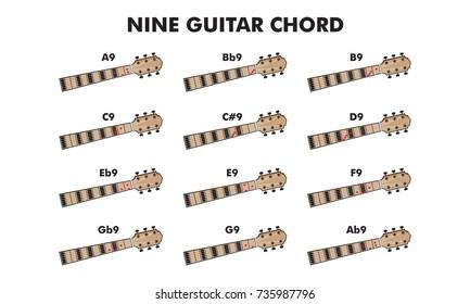 Guitar Chord Chart Images Stock Photos Vectors Shutterstock