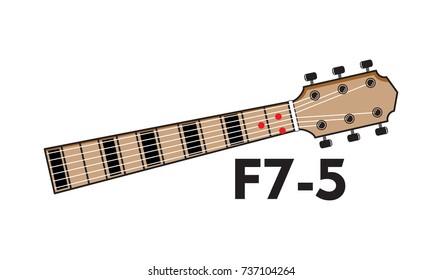 Guitar Chord Chart Images, Stock Photos & Vectors   Shutterstock