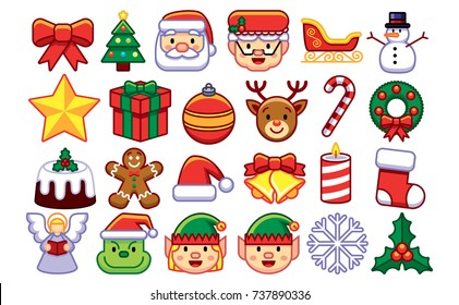 Christmas Emoji.Christmas Emoji Tree Images Stock Photos Vectors