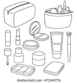 Drawing Equipment Paint Stock Vector Royalty Free 105260390