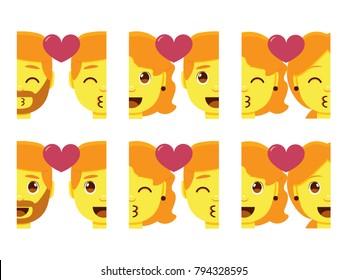 Couple Homosexuel Stock Vectors Images Vector Art