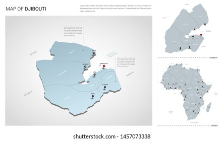 Djibouti Map Images, Stock Photos & Vectors | Shutterstock