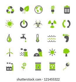 Vector Set: Eco Icons