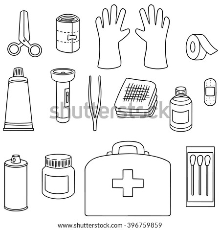First aid kit illustration stock illustration. Illustration of isolated -  25181192