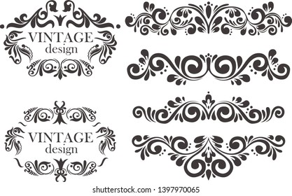 VECTOR SET FRAME AND ORNAMENT