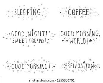 morning phrases for composition