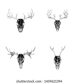 Moose Tattoo Images Stock Photos Vectors Shutterstock