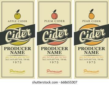 Cider Label Images Stock Photos Vectors Shutterstock