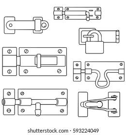vector set of latch