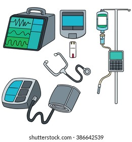 vector set of medical device