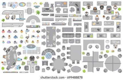 Shutterstock - Signe different open office ...