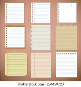 Vector set: paper designs and notes