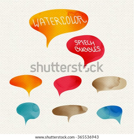 vector set quote forms template colorful stock vector royalty free