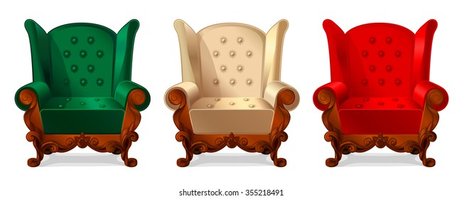 Enjoyable Turquoise Chair Stock Vectors Images Vector Art Home Interior And Landscaping Ologienasavecom