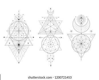 Sacred Geometric Symbols Images, Stock Photos & Vectors | Shutterstock