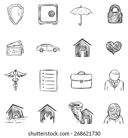 Vector Set of Sketch help Icons