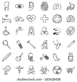 Medical Drawing Images, Stock Photos & Vectors | Shutterstock