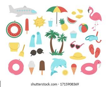 Summer Beach Clipart Hd Stock Images Shutterstock