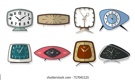 Vector Set of Table Clock