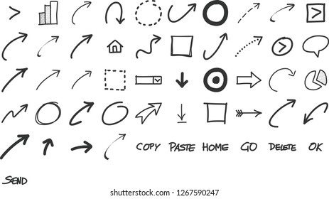 Marker Pen Scribbles Images, Stock Photos & Vectors