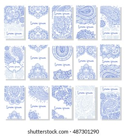 Vector set of  vintage style templates.  Vector templates vintage frames and backgrounds. Can be used for printed materials, elements, greeting cards