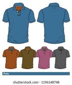 Vector Shape Pattern Polo