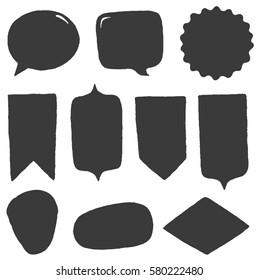 Vector shapes set