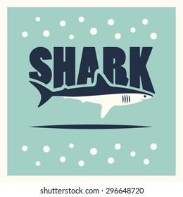 Vector shark illustration