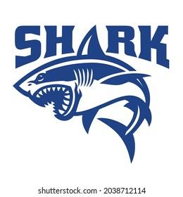 Vector of Shark Simple Vector Logo