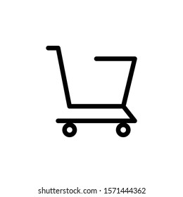 Vector shopping cart Icon - Vector