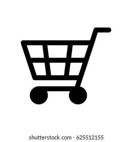 shopping cart vector icon stock vector royalty free 711493861