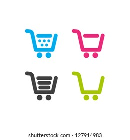 Vector Shopping Cart Icon Set