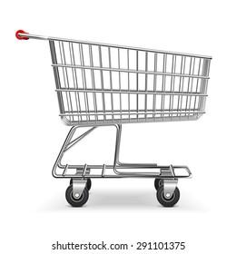 Vector Shopping Trolley
