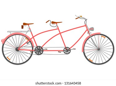 Ilustraciones, imágenes y vectores de stock sobre Doubles it Bike