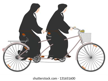 Tandem Bike Retro Images, Stock Photos & Vectors | Shutterstock