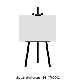 Vector Sienna Easel Black - Mockup Isolated on Background