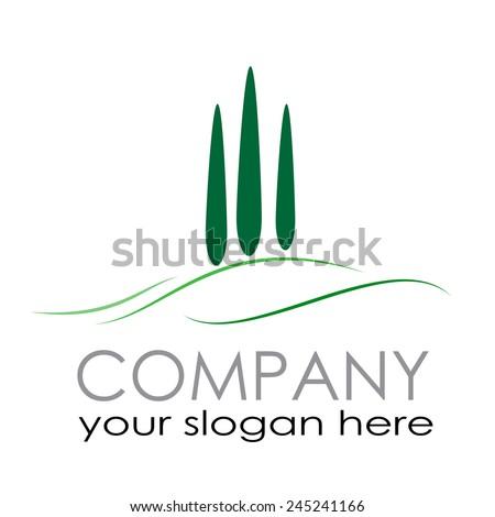Vector sign Farm Countryside