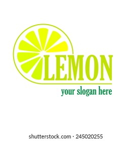 Vector sign Lemon