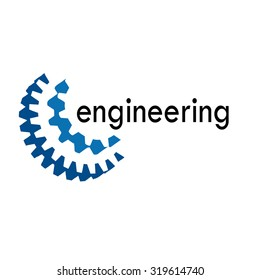 Vector sign Mechanical Engineer