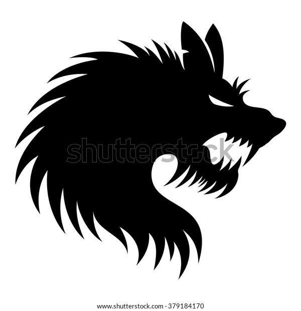 45dd2ed39 Vector Sign Werewolf Stock Vector (Royalty Free) 379184170
