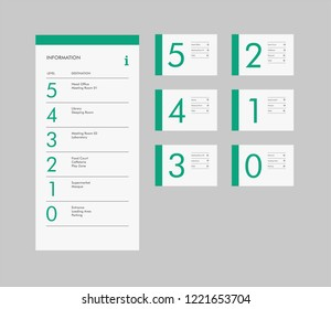 vector signage design for office studio building
