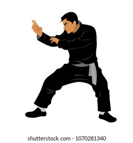 Vector of Silat Martial Arts from Indonesia 03